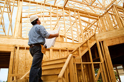 image of new construction for builders risk insurance